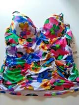 Nanette Lepore Multi Color Top Size 12 image 1
