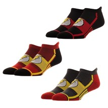 Flash DC Comics 3 Pack Athletic Active Ankle Socks Nwt - $14.99