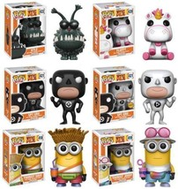 Funko Pop! Movies: Despicable Me 3 Complete Set with Chase Spy Gru Mint ... - $89.98