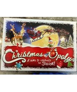 Christmas-Opoly Monopoly type family Board Game contents sealed 2-6 play... - $24.97