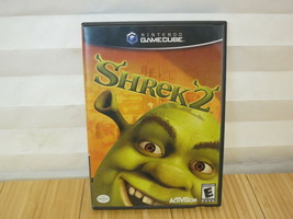 Shrek 2 (Nintendo GameCube, 2004) With Manual Tested & Working - $14.01
