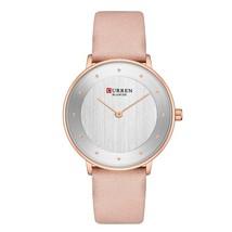 CURREN 9033 Womens Watches Luxury Leather Ladies Quartz Wrist Watch Casual Elega - $38.51