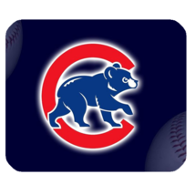 Mouse Pad Chicago Cubs UBS Logo Bears Baseball For Sports Game Anime Fan... - $4.00
