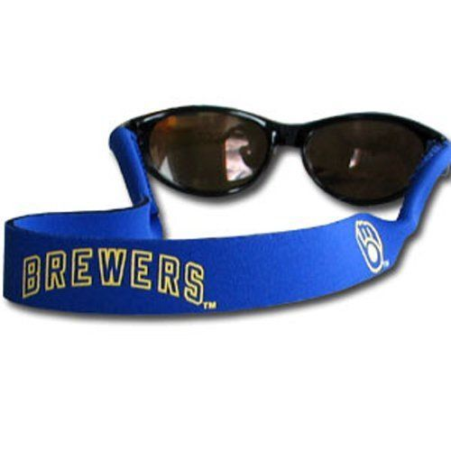 MILWAUKEE BREWERS CROAKIES SUNGLASSES EYEGLASS STRAP MLB BASEBALL