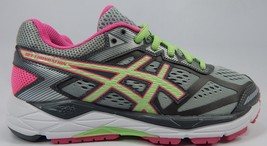 Asics Gel Foundation 12 Size US 6 M (B) EU 37 Women's Running Shoes Gray T5H5N - $57.66