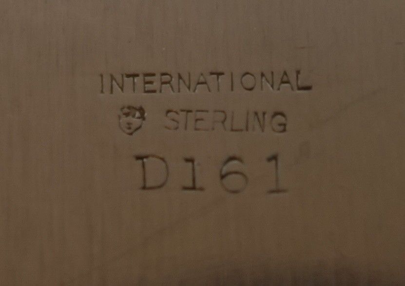 "Whitehall by International Sterling Silver Bowl Pierced 10"" #D161 (#1846) image 4"