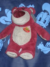 Disney Store Toy Story Lotso Bear Strawberry Smell Plush 16 inch. Brand New - $23.26