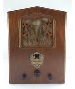 1931 DeWald Pierce Airo 522 Tombstone AM Radio, Art Deco for Restoration - $123.75