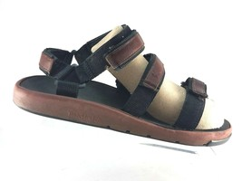 Timberland Mens Sandals Size XL (11-13) Brown Leather Adjustable Straps  95097 - $36.99