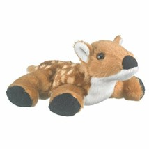 "Wildlife Artists Whitetailed Fawn Plush Finger Puppet Toy, 7"" Whitetaile... - $9.07"