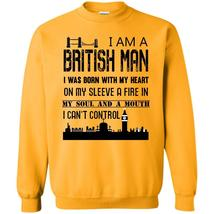 Cool Bristish Man T Shirt, I Am A British Man Sweatshirt - $16.99+