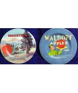 Oneida Vintage Label Collection Mountain Apple & Waldorf Plates Duthie O... - $18.99