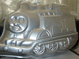 Wilton Thomas the Tank Train Engine 1st Birthday Cake Pan (2105-1349, 1998) - $11.67