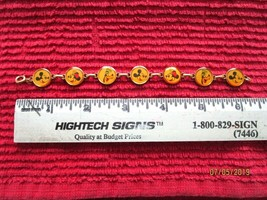 """Vintage Disney Characters 18K Gold Electroplated Bracelet Colibri Kreisler 6.25"""" - $34.38"""
