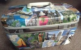 Great Gift!!!! Custom Designed Train Case Of The World's Wonders - $59.00