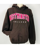 Champion Westminster College Brown Sweatshirt Hoodie Handwarmer Small 50... - $28.70