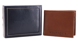 Tommy Hilfiger Men's Leather RFID Fixed Passcase Wallet Billfold 31TL220084 image 4