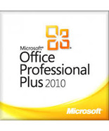 Microsoft Office professional plus 2010 LIFETIME Genuine License KEY - $21.99