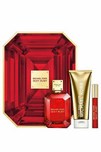Michael Michael Kors Sexy Ruby Eau De Parfum 3 Piece Gift Set For Women - $84.15