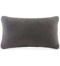 "INK+IVY Bree Chunky-Knit 12"" x 20"" Oblong Pillow Cover, Size 12x20 - $21.88"