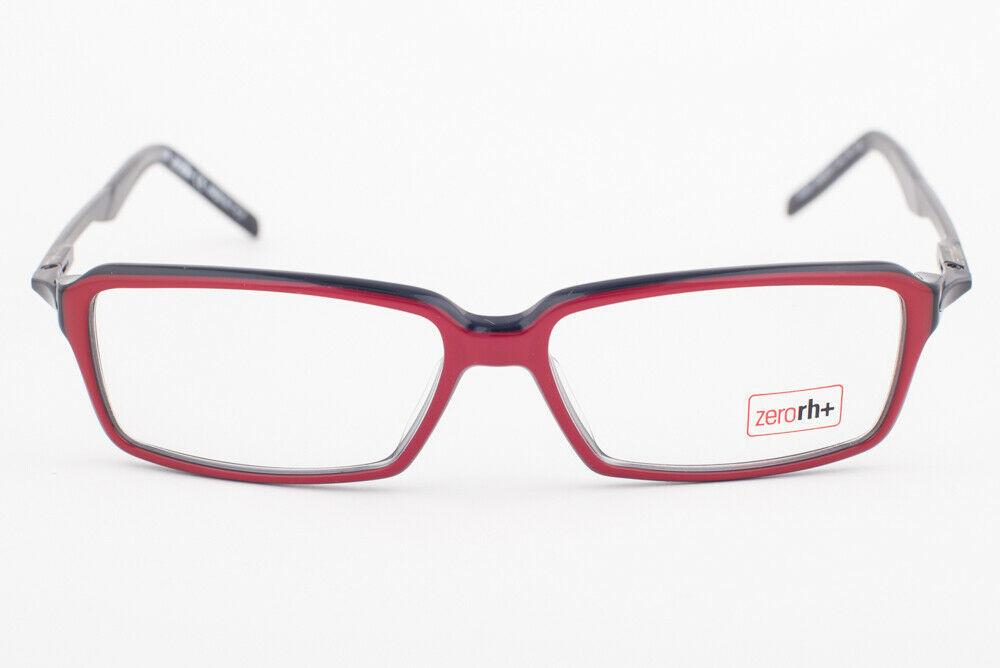 ZERORH+ QUBO Red & Black Eyeglasses RH200-01 RH 200 01 image 2