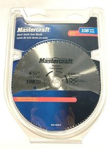 """MasterCraft 6-1/2"""" Circular Saw Blade 108T Steel Tooth For Plywood - $10.69"""