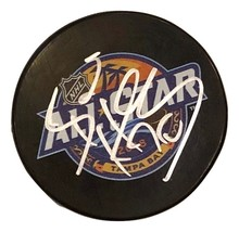 Braden Holtby Autographed Hand Signed 2018 ALL-STAR Puck C API Tals w/COA & Cube - $49.99
