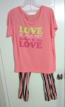 Bobbie Brooks Woman's Top & Pants Sleep Set - LOVE LOVE LOVE - Plus Size... - $14.52