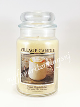 Village Candle Sweet Maple Butter Scented Large Classic Jar Candle 26 FL OZ - $28.00