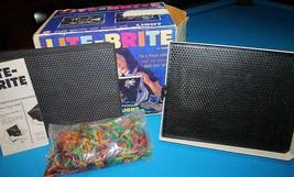 Vintage  *LITE BRITE*  IN Blue Box, Complete w/extras   1967   light bright - $32.99