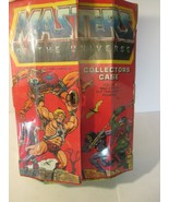 Vintage 1984 Masters of the Universe MOTU  Collector's Figures Carry Case - $21.77