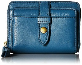 Fossil Women'S Fiona Leather Zip Around Coin Wallet - $51.41+