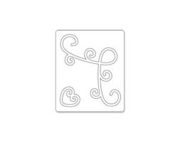 Sizzix Originals Corner Design Die #655008 image 2