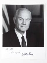 Senator Astronaut John Glenn Signed 8x10 B&W Photo Autographed Mercury-A... - $74.20