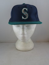 Seattle Mariners Hat (VTG) - Two Tone Classic by Ed West - Adult Snapback (NWOT) - $49.00