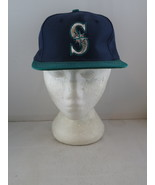 Seattle Mariners Hat (VTG) - Two Tone Classic by Ed West - Adult Snapbac... - $49.00