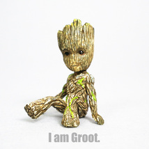 "2.35"" Marvel Superhero Galaxy Guard 2 Mini Edition Groot Baby Decoration GiftToy - $11.59"