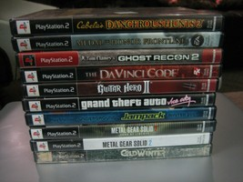 Lot of 10 Playstation 2 Games - See Description for Game Titles C - $29.69
