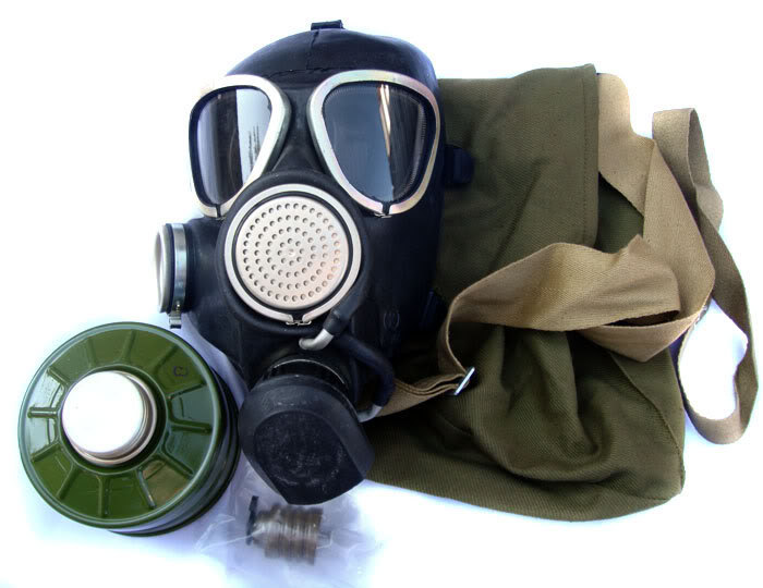 Russian Army Military Gas Mask GP-7VM 2014 year image 2