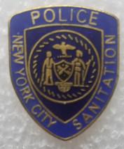 New York City Santitation Police (obsolete) Lapel Pin / Tie-Tac - $12.95