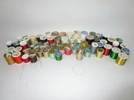 Lot 71 Vintage Sewing Thread Spools Coats & Clark Dual Duty + Various Co... - $46.40