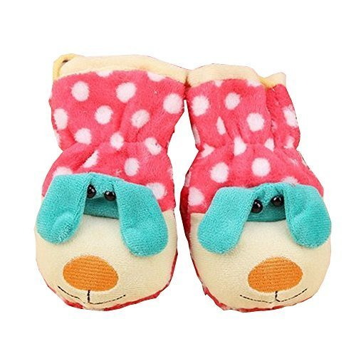 Durable Lovely Warm Gloves Useful Cute Winter Baby Mittens 159CM Multicolor