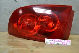2004-2006 Mazda 3 Sedan RH Right Pass OEM RED tail light 72 1G7 - $24.74