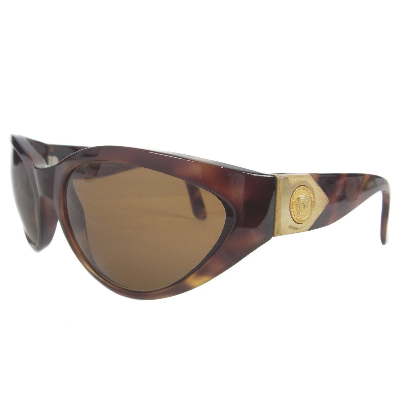 GIANNI VERSACE MOD.480 COL.900 TO Medusa Marble Cell Frame Sunglasses #28 - $277.20