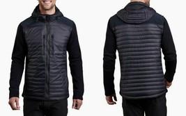 Kuhl Men's Provocateur Hybrid Hooded Jacket 3164 Goose Down Size M Midni... - $149.25
