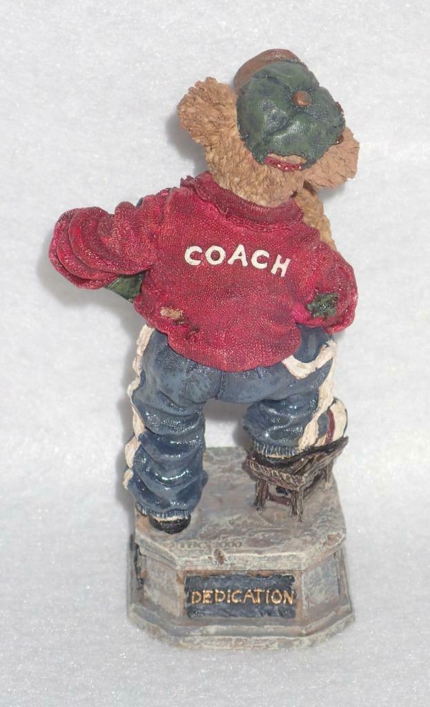 Boyd Bearstone Resin Bears Coach Grizberg Leading The Way Figurine 1E #227757 image 2