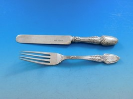 "Broom Corn by Tiffany & Co. Sterling Silver Junior Set Fork and Knife 7"" - $289.00"