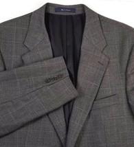 Ralph Ralph Lauren Sport Coat Mens Size 44 Tall Wool Two Button Gray Win... - $31.64