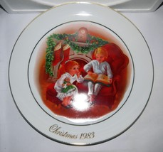 Avon Vintage Christmas Memories Memories Porcelain Collectible Plate 1983 NIB - $7.39
