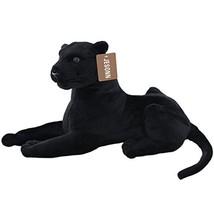 "JESONN Realistic Stuffed Animals Plush Toy Leopard Black,13.5"" or 35CM,1PC - $23.67"